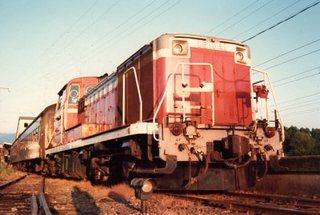 想い出の列車(試運転中)イメージ01