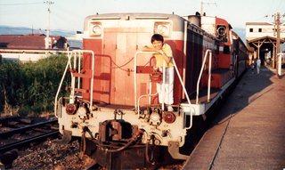 想い出の列車(試運転中)イメージ02